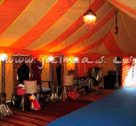 Interior Jaima Evento reyes